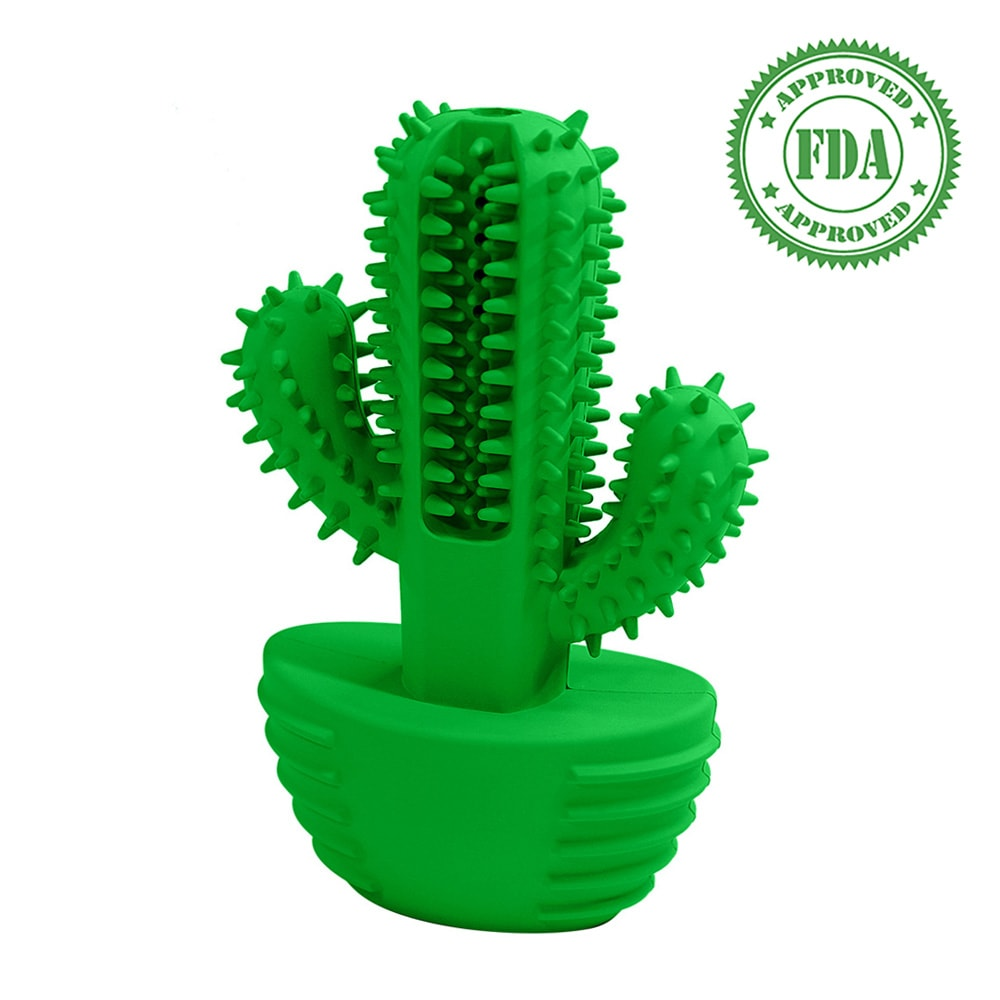 FurFurBuddy™ Cactus Dog Toothbrush (50% OFF)