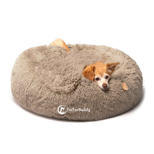FurFurBuddy™ Calming Plush Bed