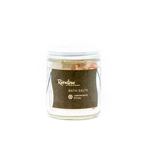 Riverstone Signature Lemongrass Ritual Bath Salts