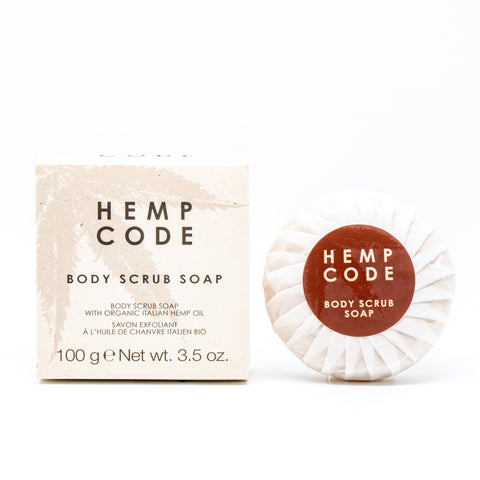 Hemp Code Body Scrub Soap