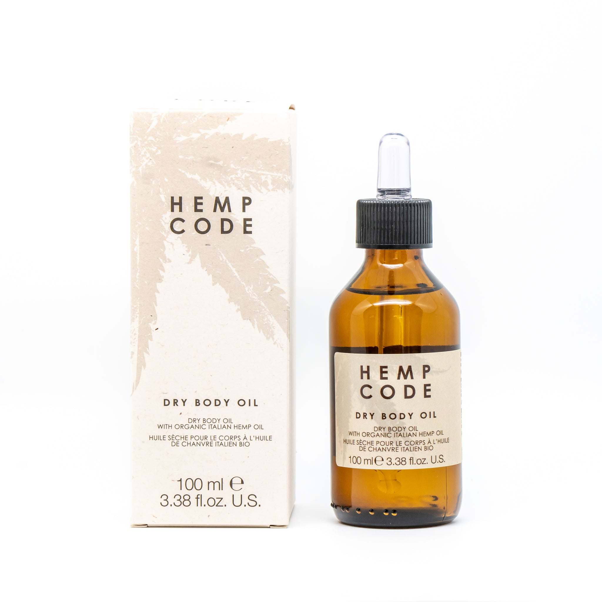 Hemp Code Dry Body Oil