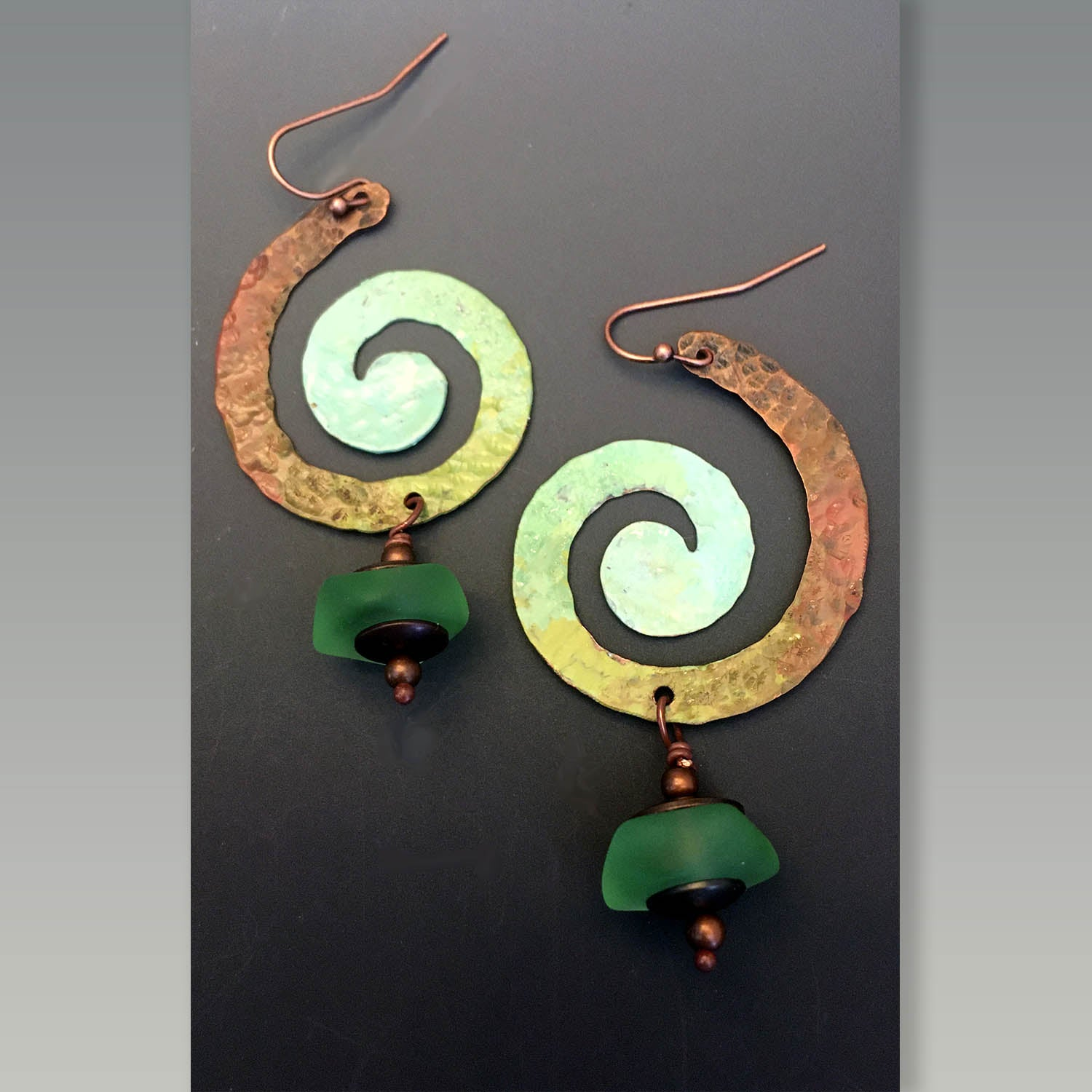 Spiral in Nature earrings