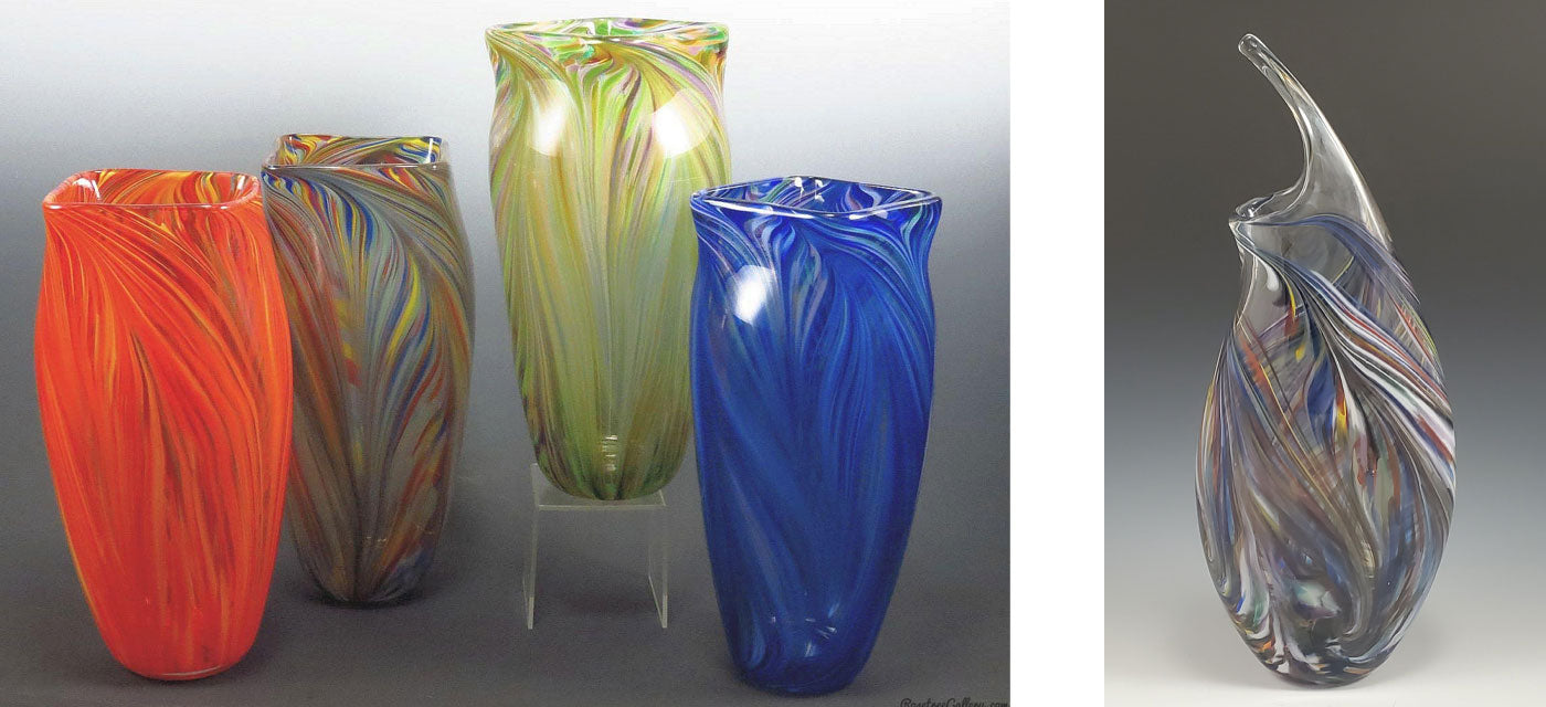 Glassware Blown Glass Vases