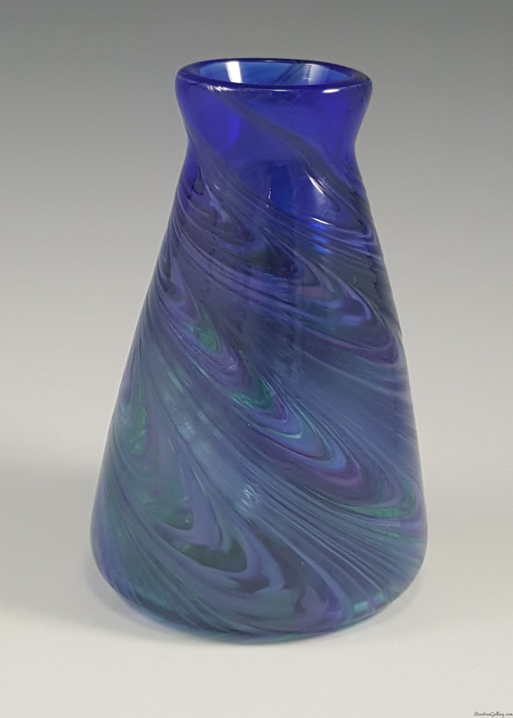 Double Angle Vase - Rosetree Blown Glass Studio and Gallery | New Orleans