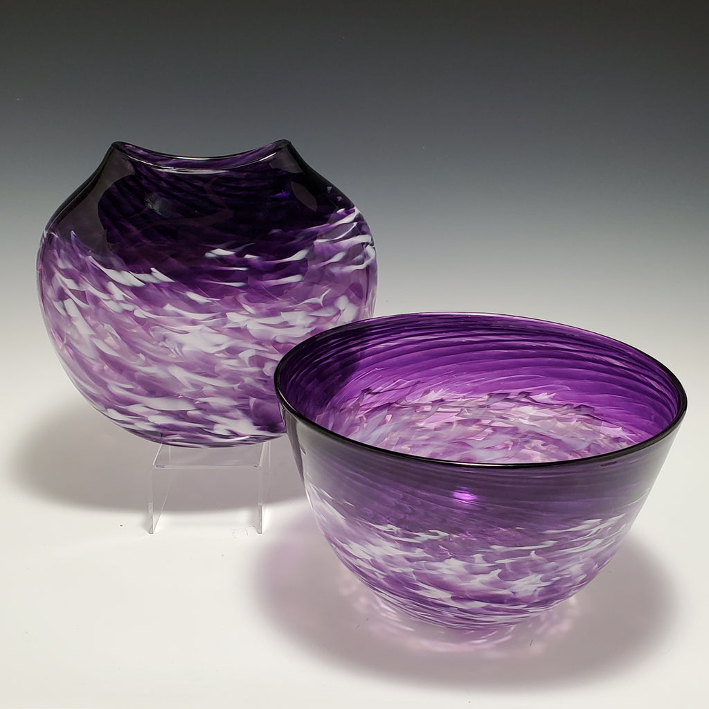 Spiral Bowl - Rosetree Blown Glass Studio and Gallery | New Orleans