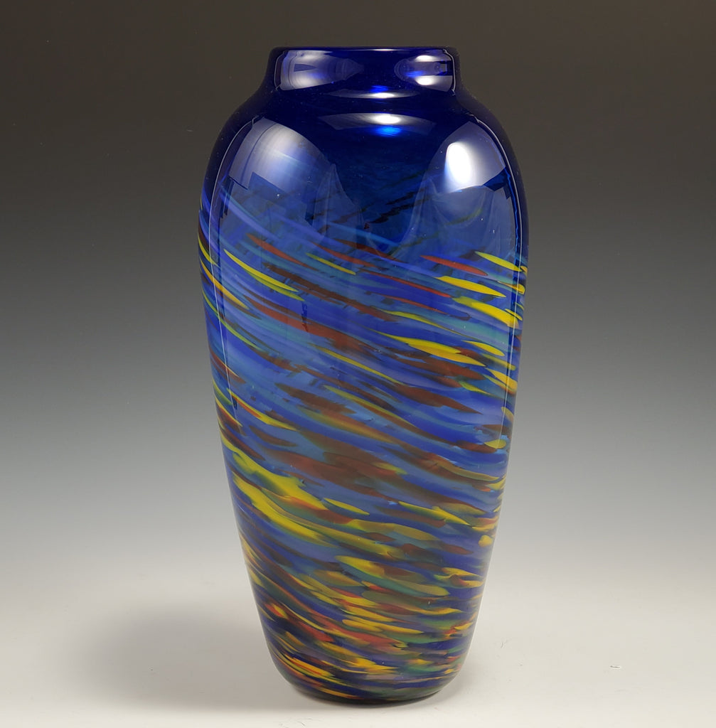 Primo Vase - Rosetree Blown Glass Studio and Gallery | New Orleans