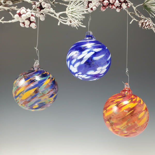 Regular Ornaments - Rosetree Blown Glass Studio and Gallery | New Orleans