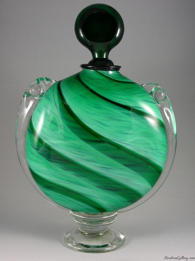 M&M Urn - Rosetree Blown Glass Studio and Gallery | New Orleans