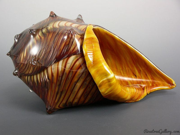 Conch Shell - Rosetree Blown Glass Studio and Gallery | New Orleans