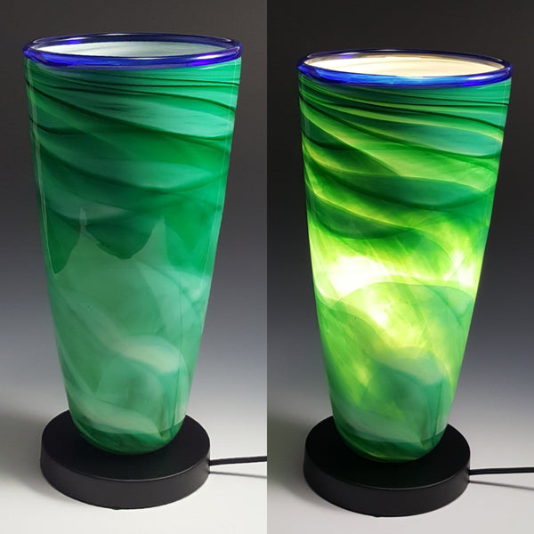 Dreamscape Uplight - Rosetree Blown Glass Studio and Gallery | New Orleans