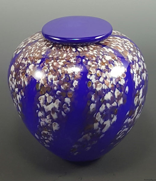 Wisteria Urn - Rosetree Blown Glass Studio and Gallery | New Orleans