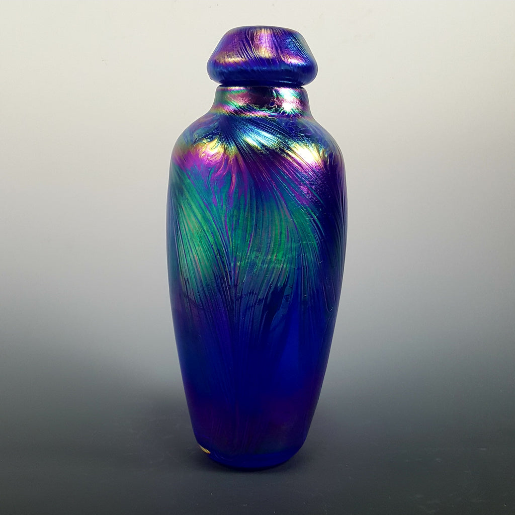 Feathered Pet Urn - Rosetree Blown Glass Studio and Gallery | New Orleans