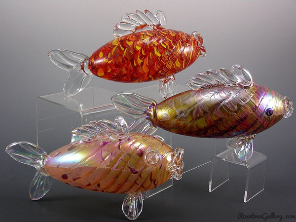Torpedo Fish - Rosetree Blown Glass Studio and Gallery | New Orleans