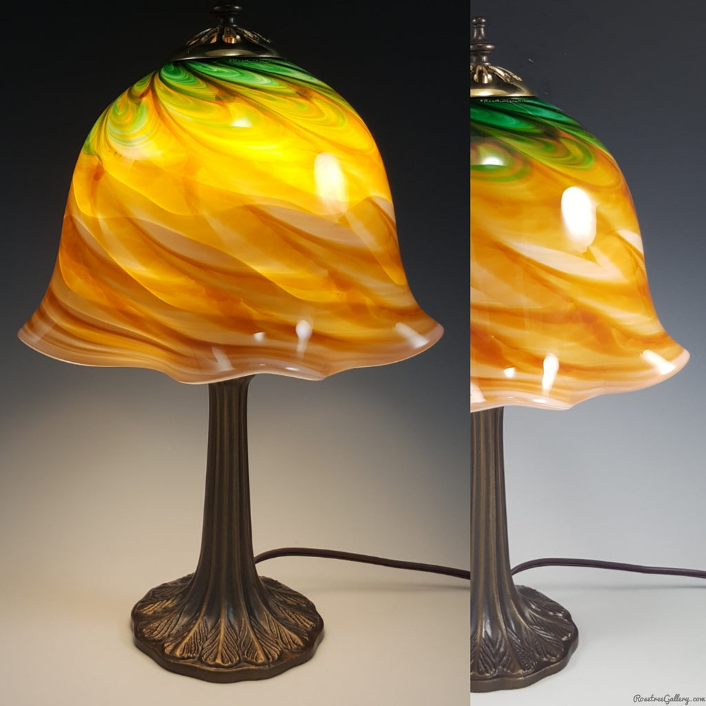 Petite Table Lamp - Rosetree Blown Glass Studio and Gallery | New Orleans