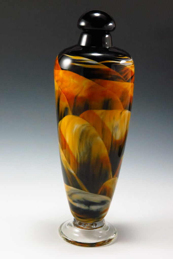 Navajo Urn - Rosetree Blown Glass Studio and Gallery | New Orleans