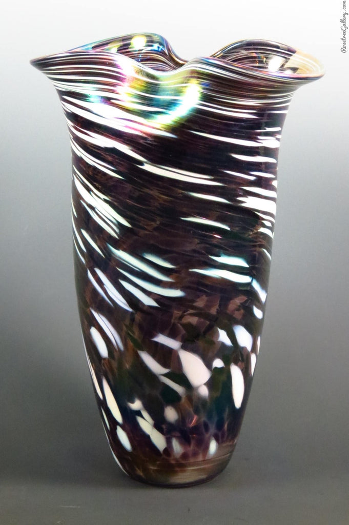 Rowena Vase - Rosetree Blown Glass Studio and Gallery | New Orleans