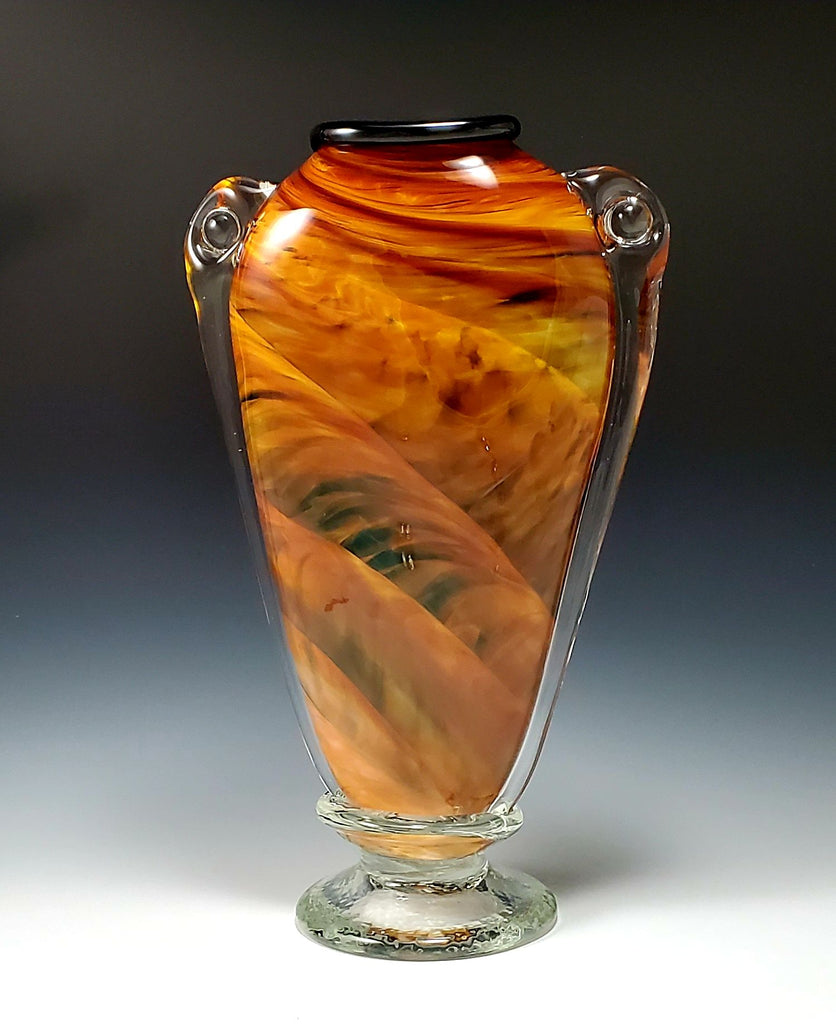 Shoulder Vase - Rosetree Blown Glass Studio and Gallery | New Orleans