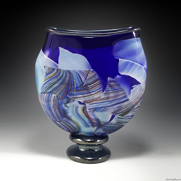 Transformation Pocket Vase - Rosetree Blown Glass Studio and Gallery | New Orleans