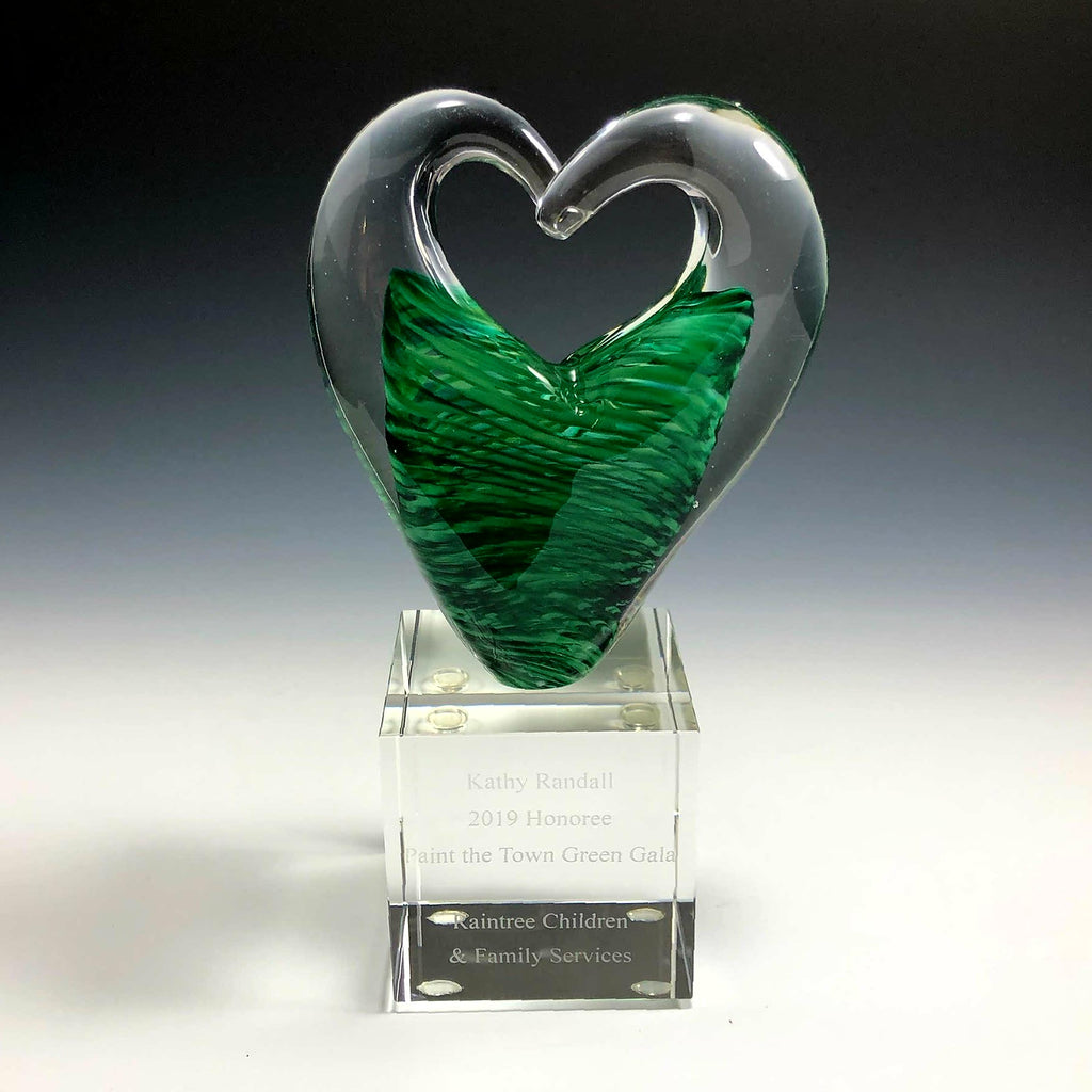 Triple Heart Award - Rosetree Blown Glass Studio and Gallery | New Orleans