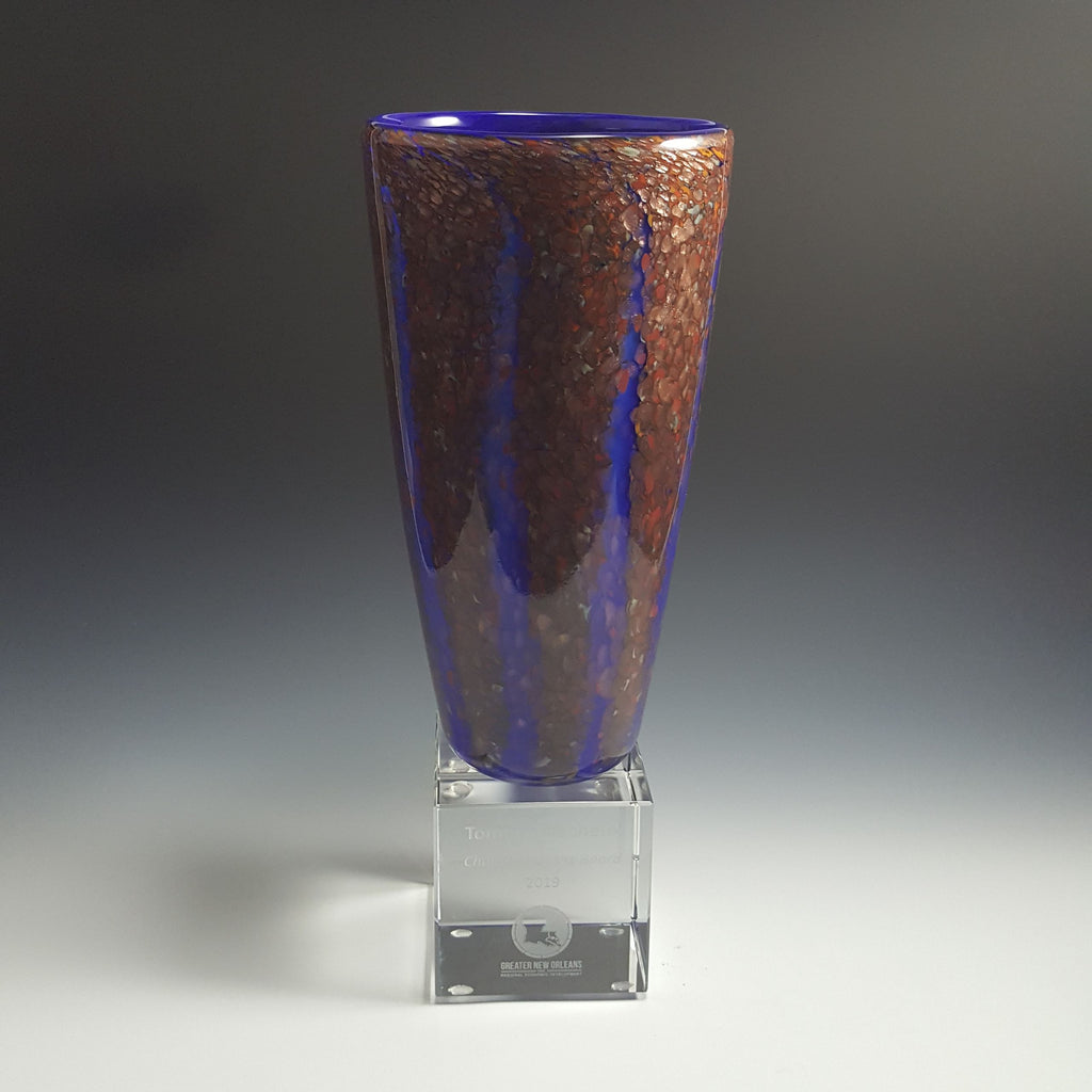Wisteria Cone Award - Rosetree Blown Glass Studio and Gallery | New Orleans