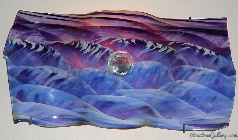 Landscape Sconce - Rosetree Blown Glass Studio and Gallery | New Orleans