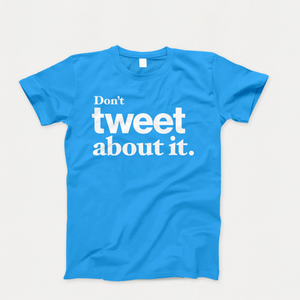 Vote About It T-Shirt Cyan