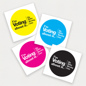 Vote About It Sticker Pack