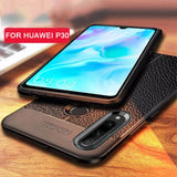 TPU Leather Bumper Case For Huawei P30 Pro Lite Case