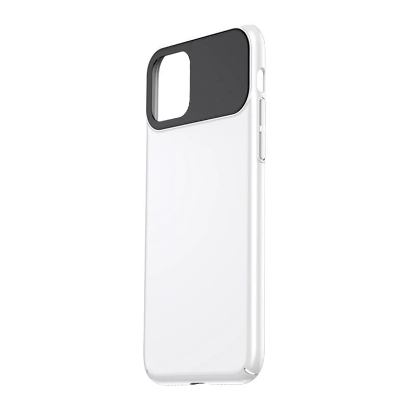 Luxury Protection Transparent Mirror Glass Bumper Case  For iPhone