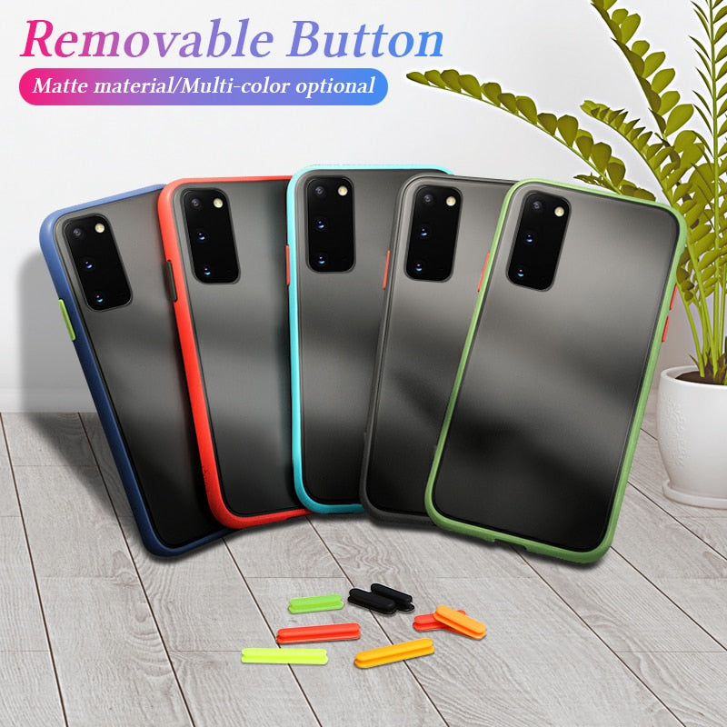 Anti-knock Armor Color Clash Case For Samsung Galaxy