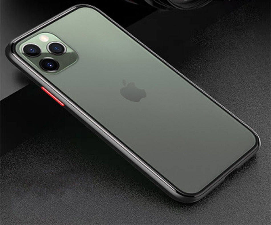 Applicable Frosted Shockproof Phone Case For iPhone