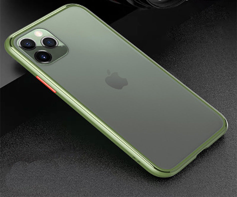 Applicable to iPhone  Frosted Shockproof Mobile Phone case