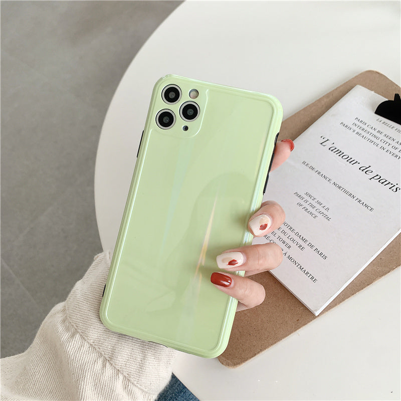 Soft Silicone Camera Protection Case For iPhone