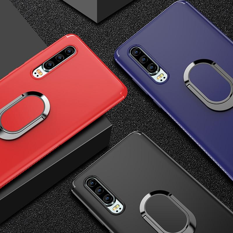 Luxury 360 Degree Ring Holder Case For Huawei