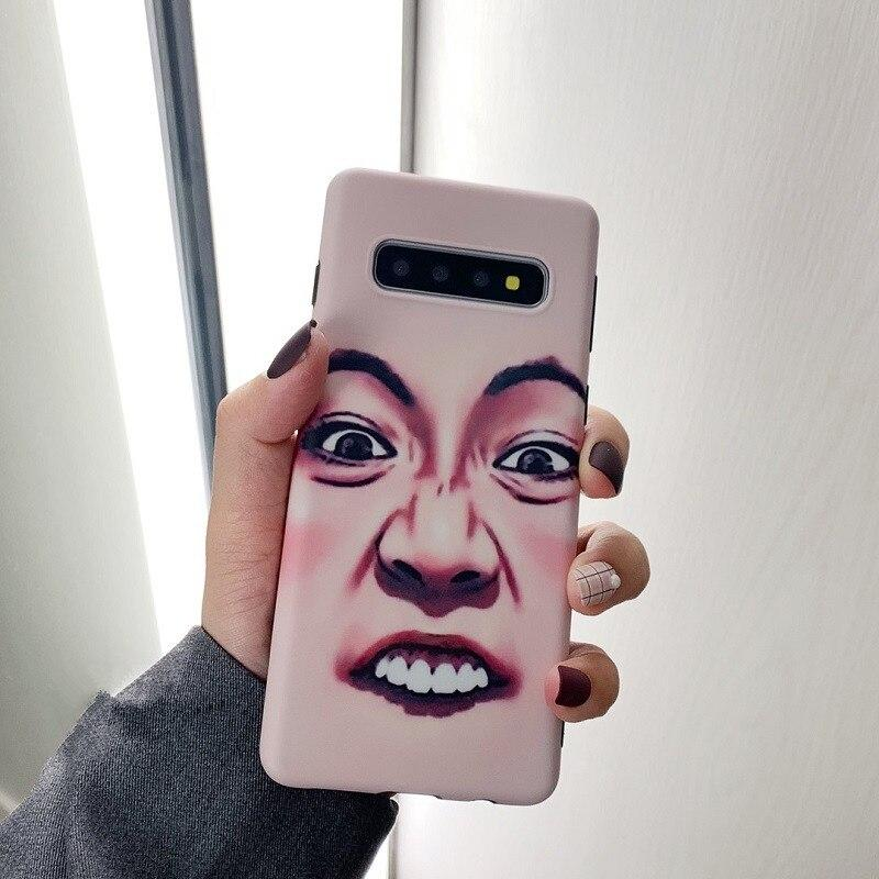 Funny Face Paint Case For Samsung