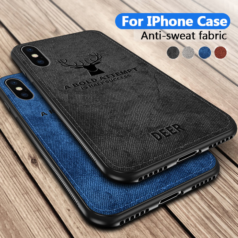 Fabric Phone Case For Iphone
