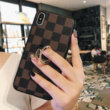 Luxury Fashion PU Leather Cover For iphone