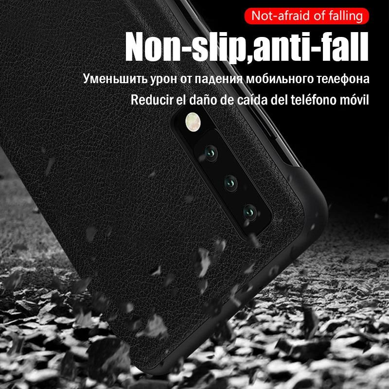 Smart View Flip Leather Case For Samsung A Series