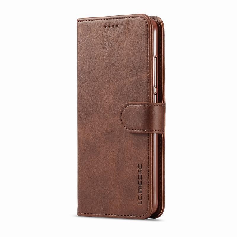 Leather Card Holder Magnetic Cover For Redmi