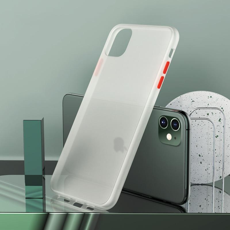 Luxury Matte Hard Case For iPhone