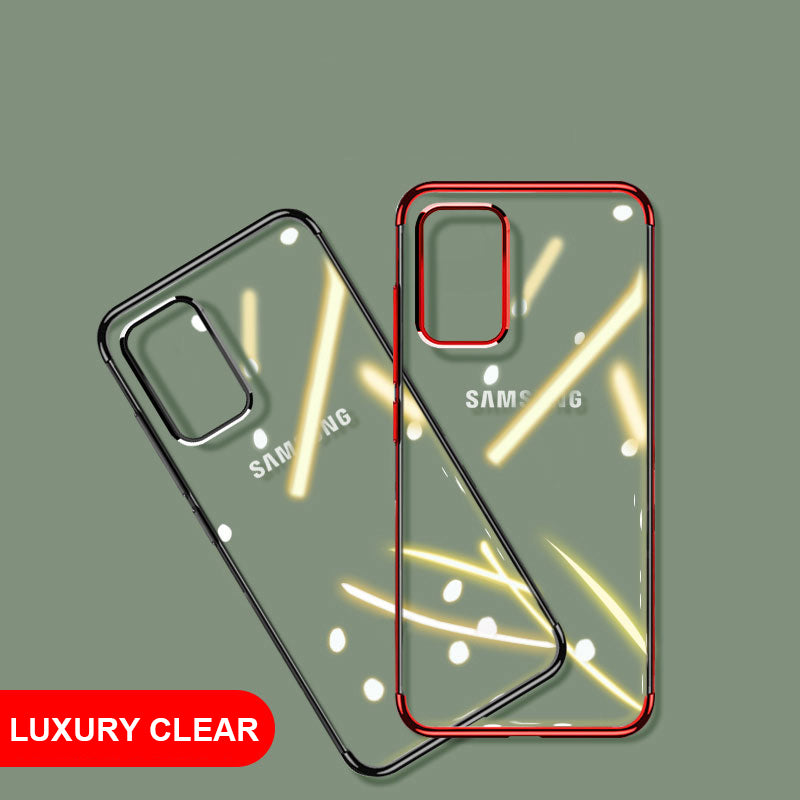 Laser Soft Clear Cover  For Samsung Galaxy S20 Plus