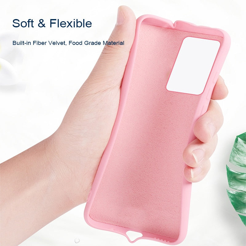 Liquid Silicone Shockproof Case For Samsung Galaxy