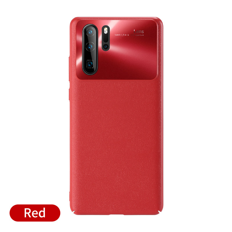 Luxury PC Imitation leather Shockproof Case For Huawei