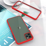 Fashion Matte Case for iPhone Shockproof Phone back Cover
