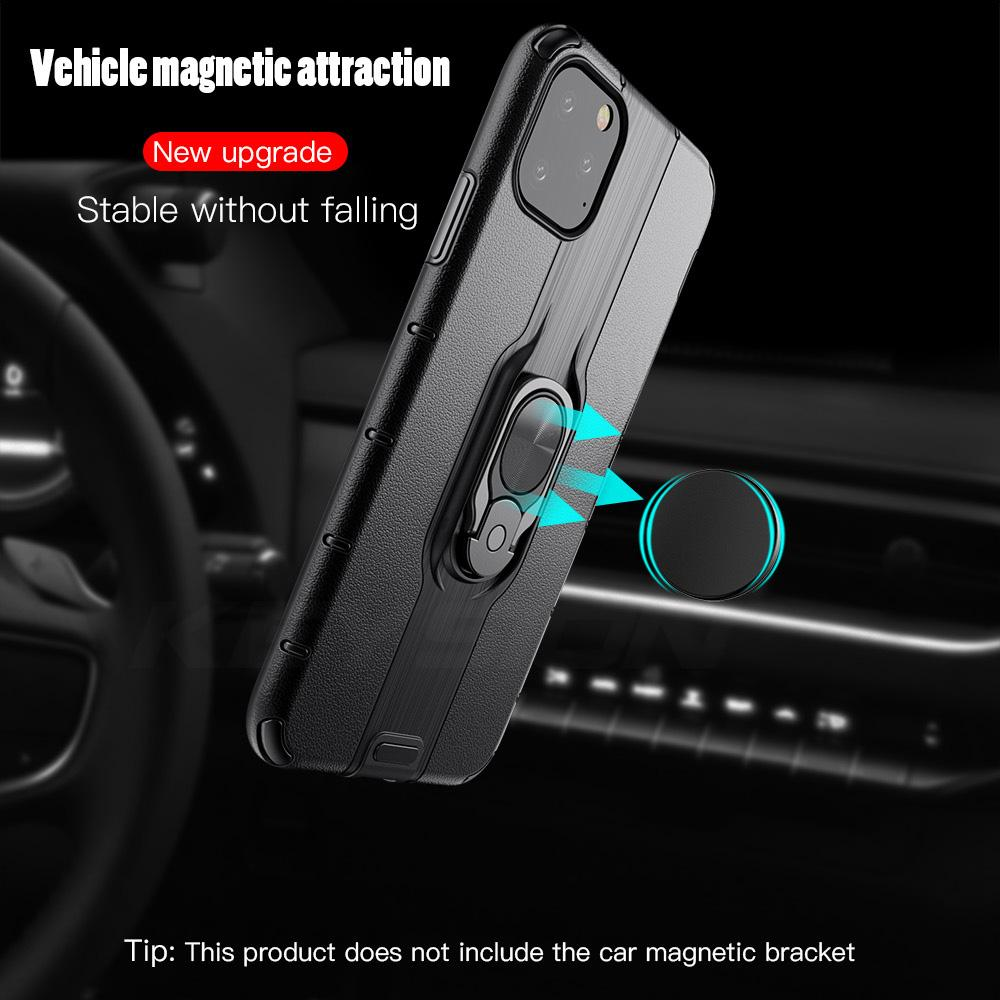 Luxury Armor Ring Holoder Case for iPhone 11 Pro Max