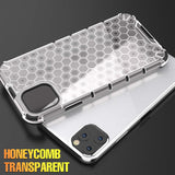 Shockproof Armor Honeycomb Airbag Back Cover Case for IPhone
