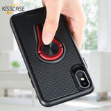 Luxury Bumper Magnetic Holder Case For Huawei