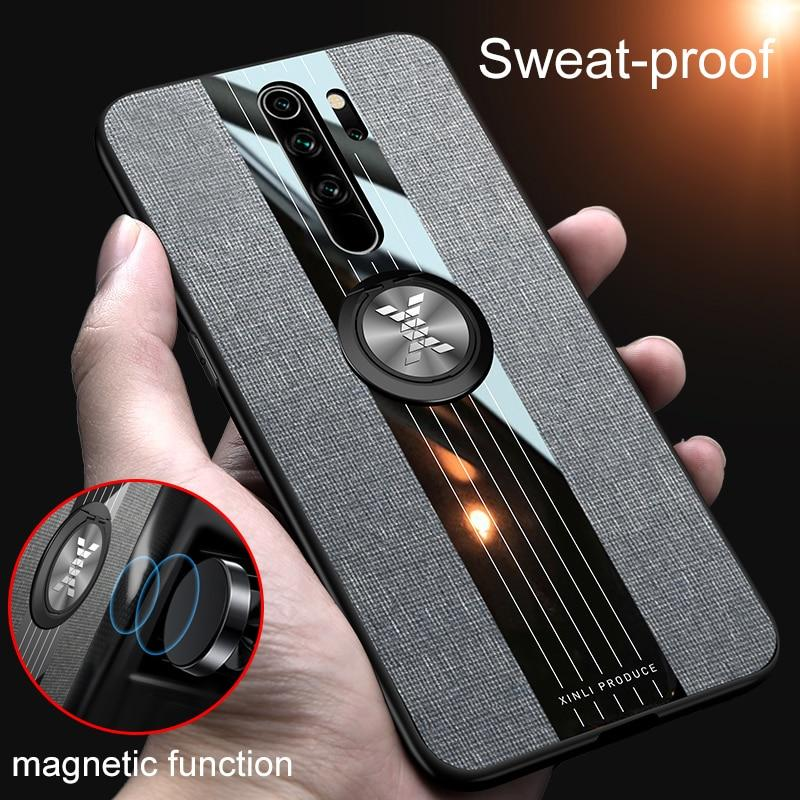 Luxury Shockproof Finger Ring Case For Redmi