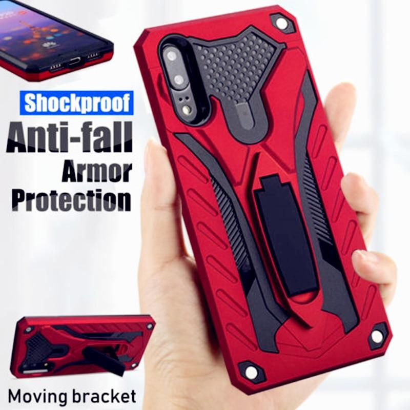 Shockproof Armor Kickstand Case For Huawei
