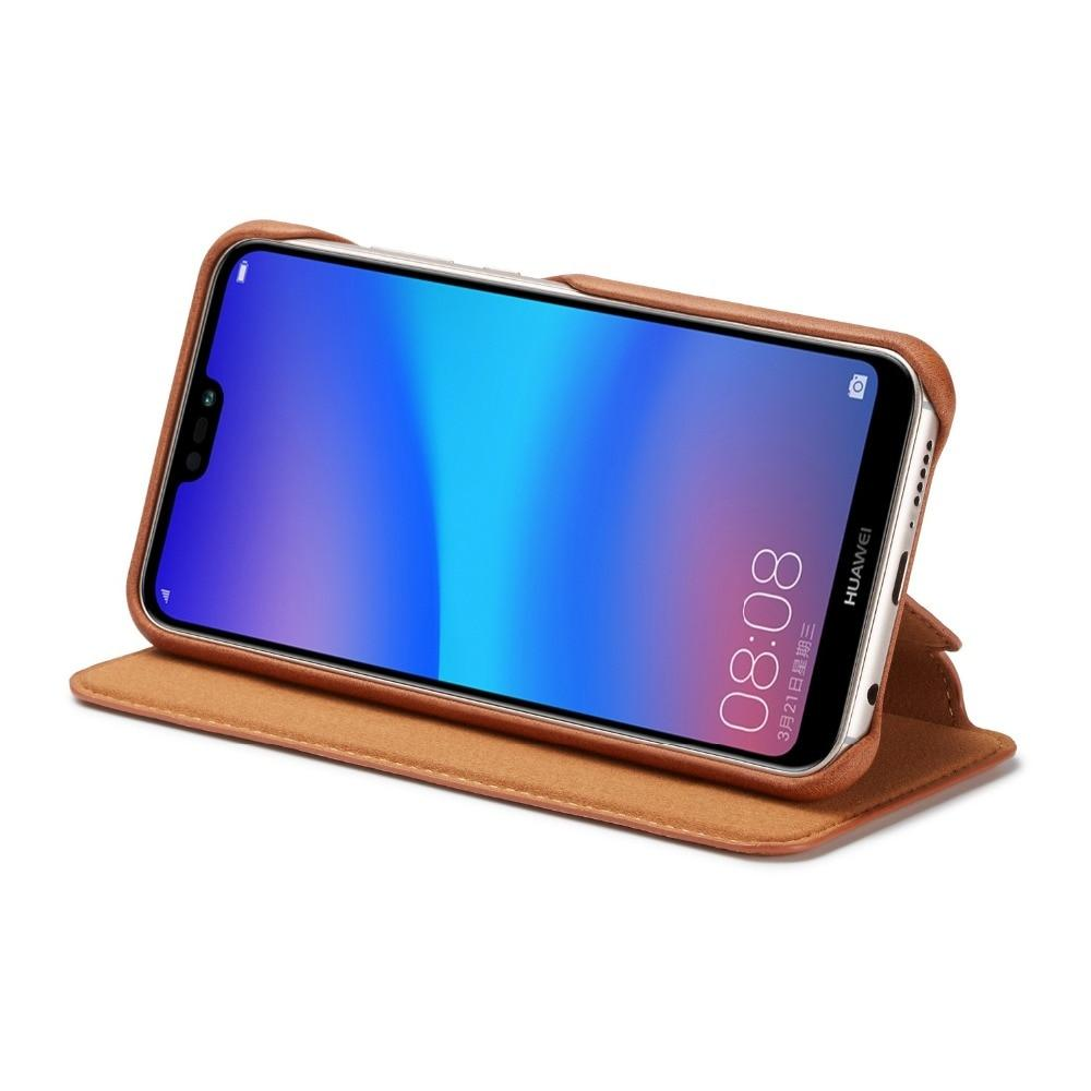 Leather Wallet Flip Stand Case For Huawei P30 P20